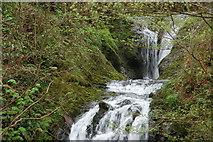 J3996 : Glenoe waterfall (14) by Albert Bridge