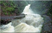 J3996 : Glenoe waterfall (16) by Albert Bridge