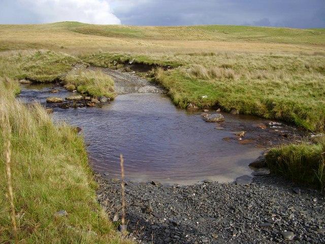 Ford over Afon Claerddu