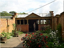 ST5071 : Entrance to the Vegetable Gardens by Ray Beer