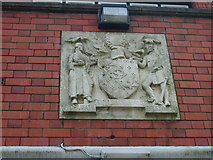 SO9596 : Bilston Coat of Arms by Gordon Griffiths