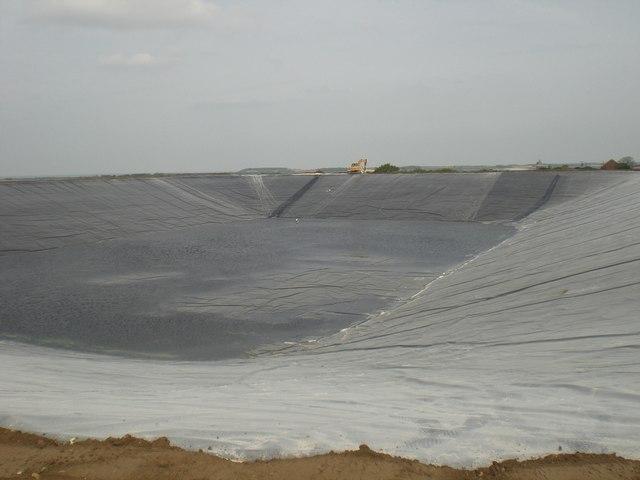 Reservoir, Field Barn near Wighton