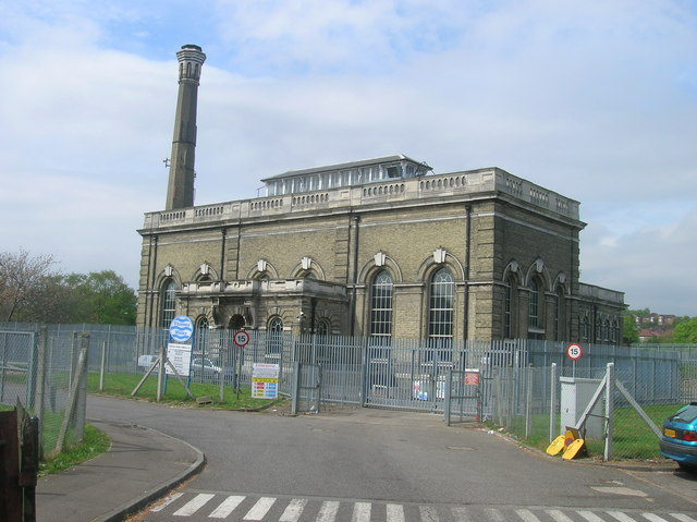 Cricklewood Water Pumping Station off St Michael's Road, London NW2