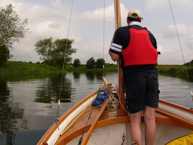 Entering the Owenacharra River, Lough Ree