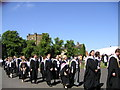 NZ2742 : Graduation on Palace Green by Gordon Griffiths