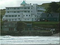 SX6443 : Burgh Island Hotel, Burgh Island by Robin Lucas