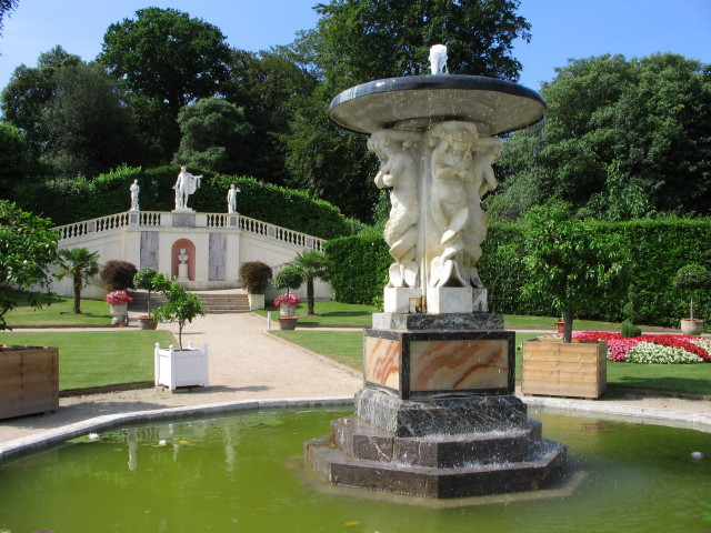 Fountain, Mount Edgcumbe Country Park