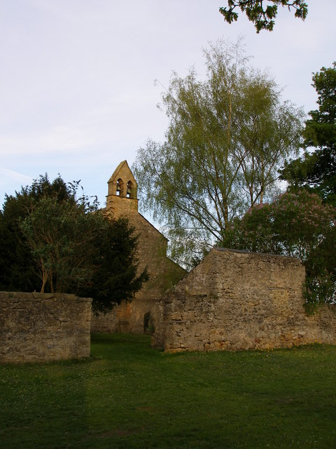 The church at Bishop Middleham