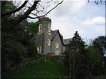 SH5840 : Castell Portreuddyn by Dewi