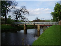 SD6650 : Bridge over the River Hodder at Thorneyholme by Alexander P Kapp