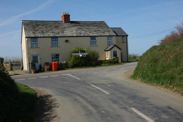 House at Silworthy Cross
