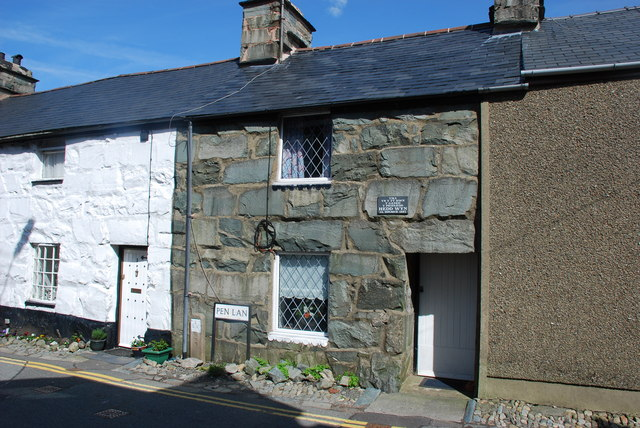 Cartref cyntaf Hedd Wyn - Hedd Wyn's first home