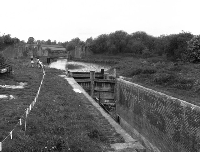 Crofton Top Lock No 55, Kennet and Avon Canal