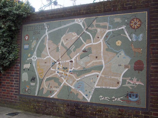 Mural of Petersfield