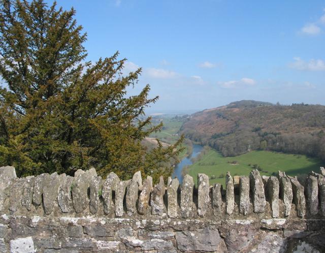 Wye valley towards Ross from Symonds Rock
