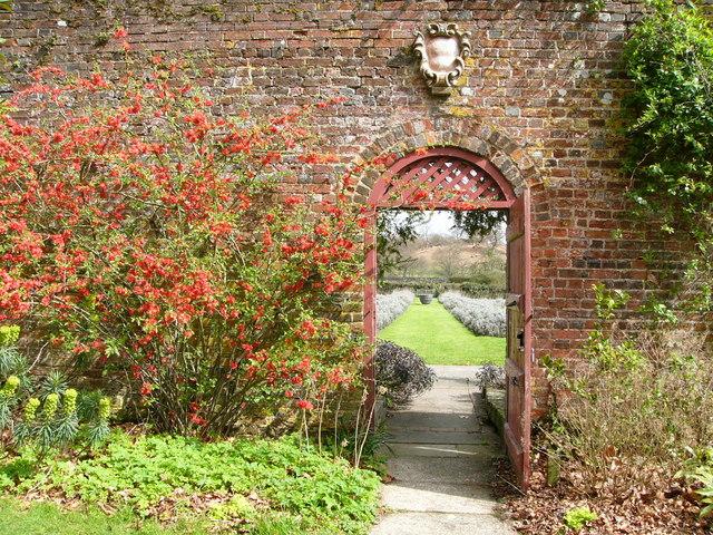 Gardens Parham House