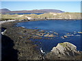 NC4069 : Along the north shore at Aodann Mhòr by Roger McLachlan