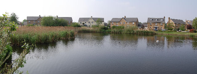 Lake at Junction of Devereux Lane and Wyatt Drive, Barnes