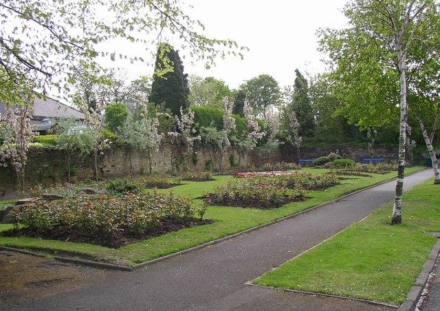 Public garden, Granny Hall Road, Brighouse