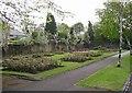 SE1323 : Public garden, Granny Hall Road, Brighouse by Humphrey Bolton