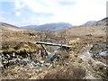 NM9269 : Bridge over Abhainn Gleann an Lochain Duibh by Peter Van den Bossche