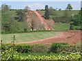 SO6327 : Felindre to Tirley pipeline installation north of Upton Bishop by Pauline E