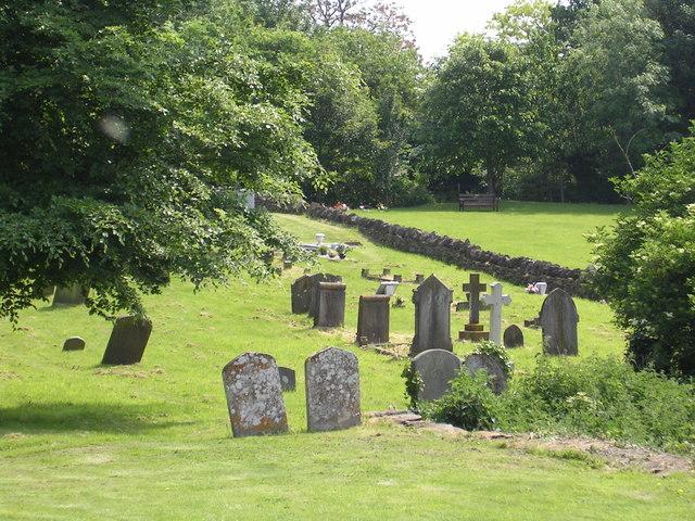 Churchyard, St Michael's, Garsington