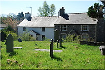SH3537 : Mynwent Llannor Churchyard by Alan Fryer
