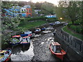 NZ2664 : The Ouseburn at low tide by Bill Henderson
