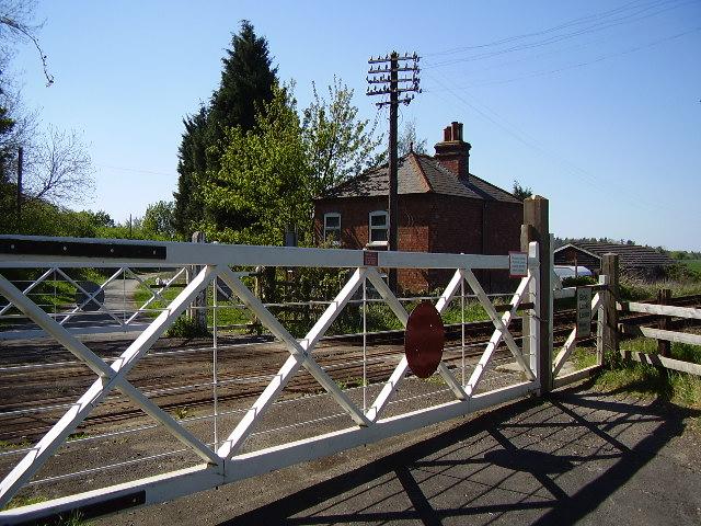 Railway Level Crossing Blankney
