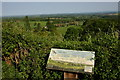 SO7457 : Viewpoint at Collin's Green by Philip Halling