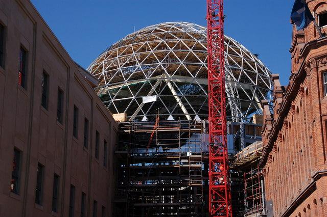 Belfast's new dome