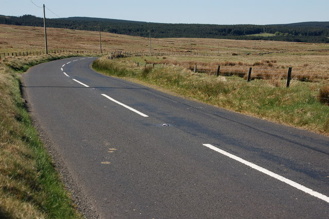 The Starbog Road near Larne (2)