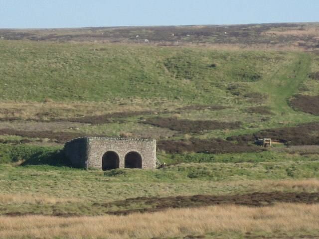 Lime Kiln, west of Whitfield