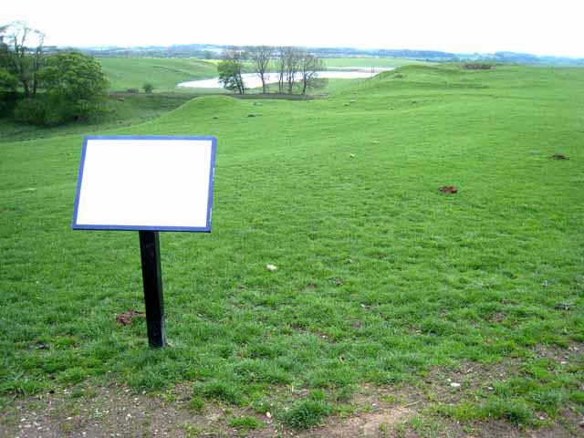 Site of Bishop Middleham Castle