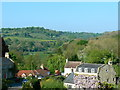 ST7660 : A view of Midford from the viaduct by Brian Robert Marshall