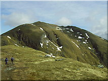 NN6240 : Ridge up to Ben Lawers by Alan Douiglas
