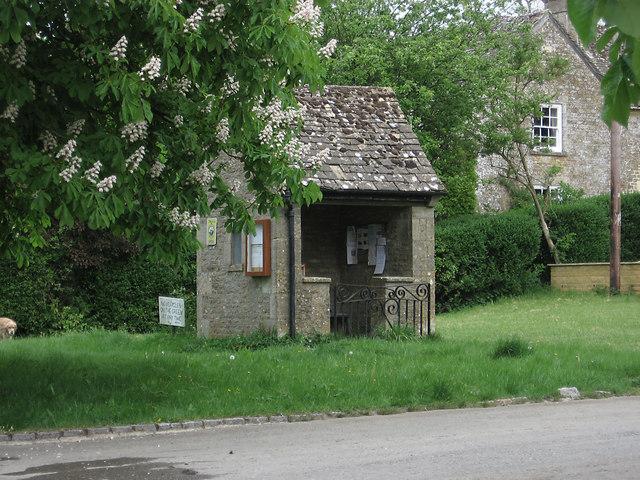 Bus Shelter, Wyck Rissington
