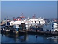 O2034 : Stena Adventurer at Dublin Port by Kate