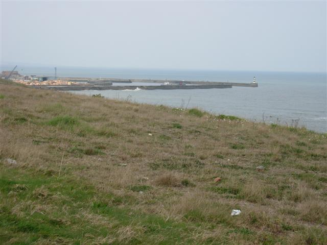 Seaham Harbour, taken from Nose's Point