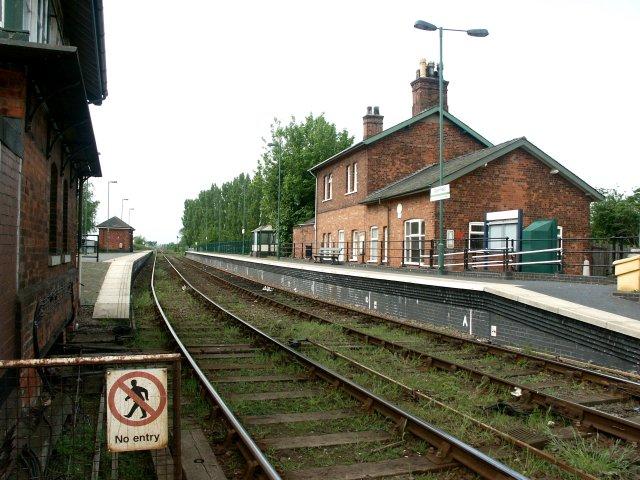 Railway Station, Wainfleet