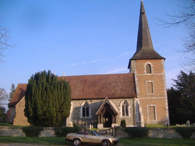Terling, All Saints church
