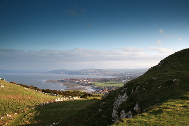 View SE from Little Orme