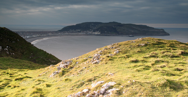 View W from Little Orme