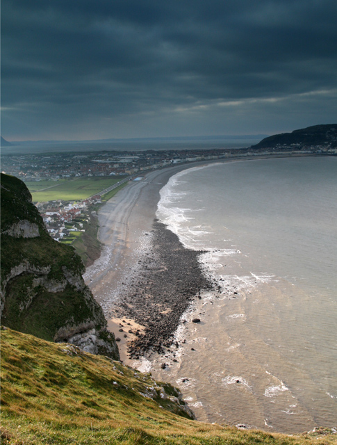 The isthmus of Great Orme's Head