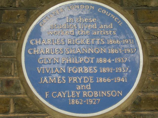 Blue Plaque on Lansdowne House