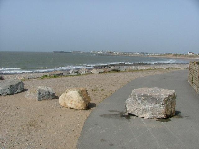 Newton Point towards Porthcawl