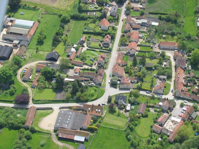 Aerial Photo of Nunnington
