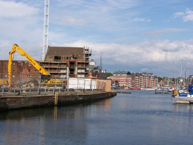 Ipswich docks development
