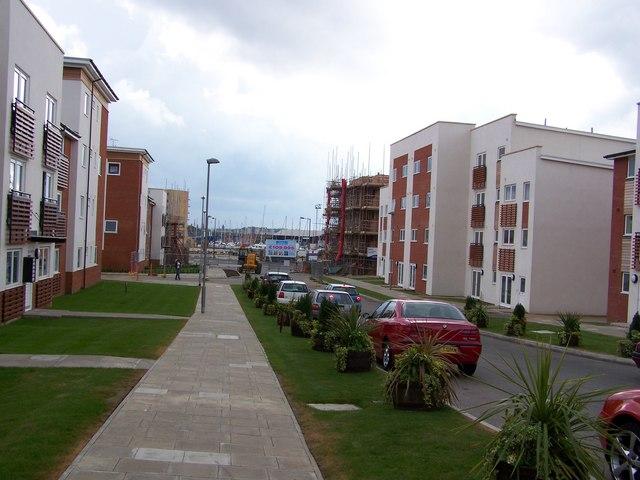 Ipswich docks housing development